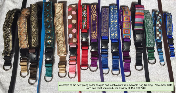 collar and leash designs Nov '15